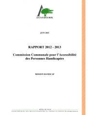 Rapport CCAPH 2012-2013