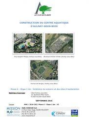 Construction du Centre aquatique d'Aulnay-sous-Bois