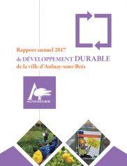 Rapport annuel 2017 de développement durable de la ville d'Aulnay-sous-Bois
