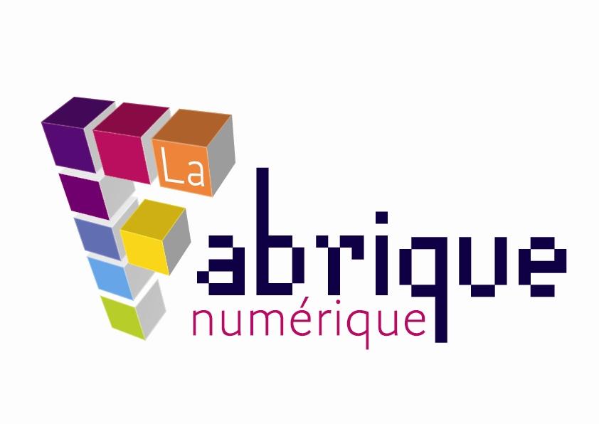 Logo stylisé de la Fabrique numérique
