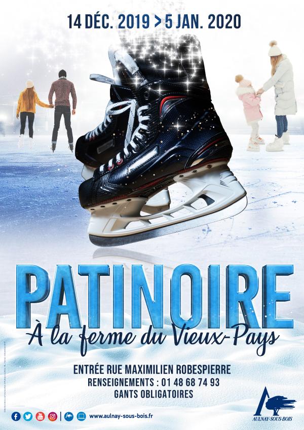 affiche patinoire