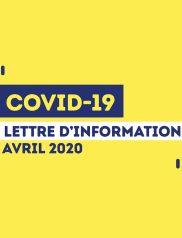 Covid-19 : Lettre d'information municipale – 27 Avril 2020