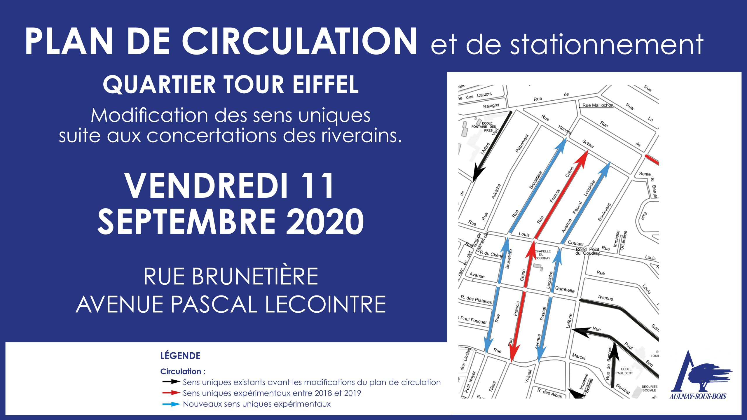 Plan de circulation et de stationnement 11 septembre 2020