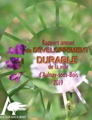 Rapport Annuel 2019 de Développement Durable De La Ville d'Aulnay-sous Bois