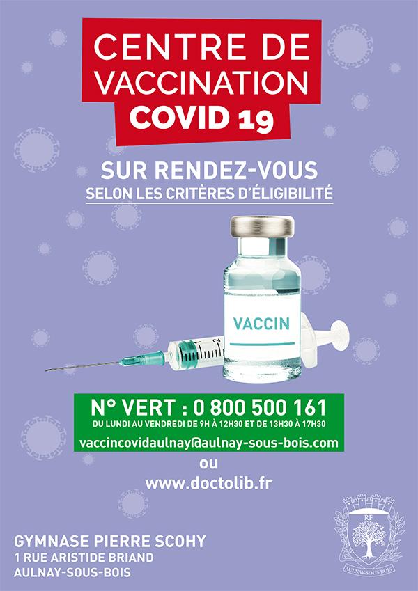 Santé centre de vaccination Gymnase Scohy