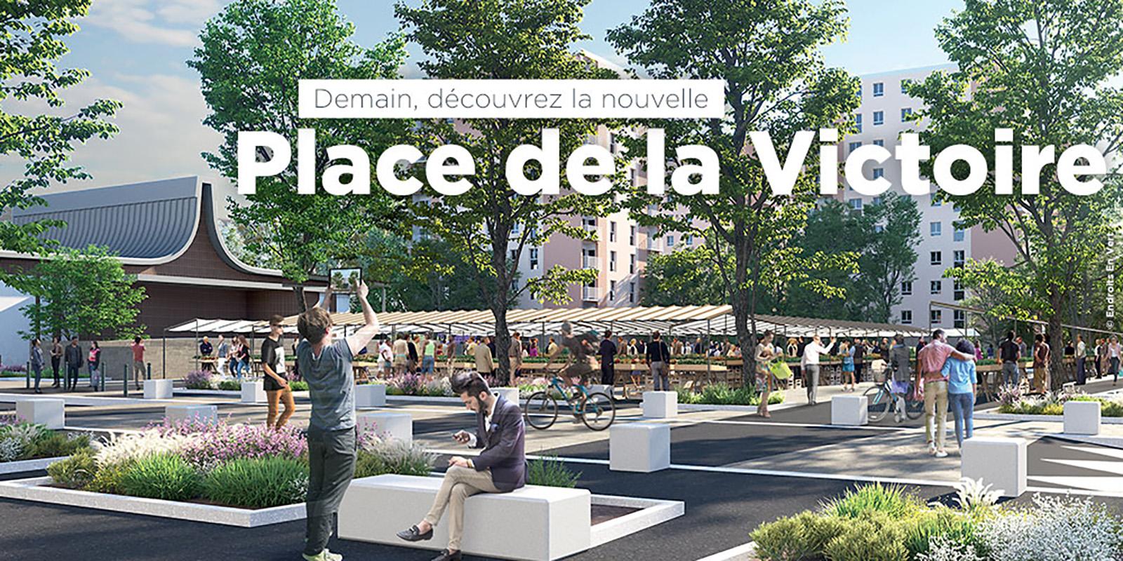 Place de la Victoire Dénomination