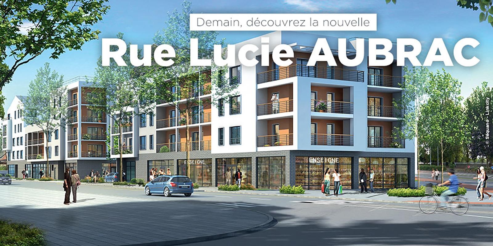 Rue Lucie AUBRAC dénomination