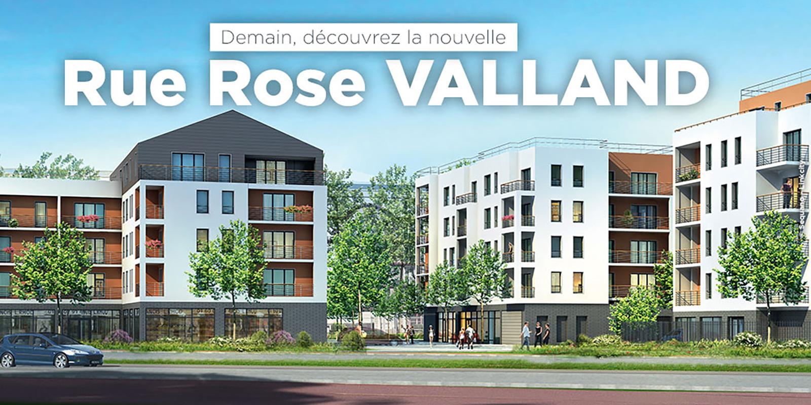 Rue Rose Vailland Dénomination