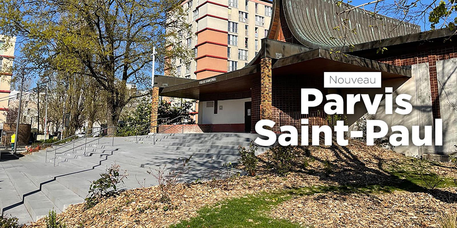 Parvis Saint-Paul Dénomination