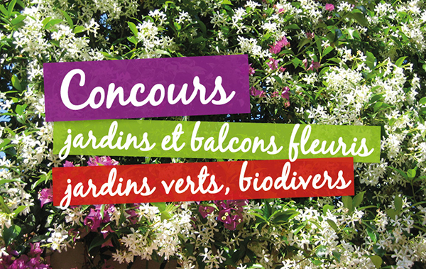 Concours jardins et balcons fleuris