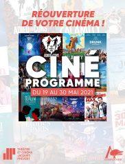 Programme cinéma Mai 2021
