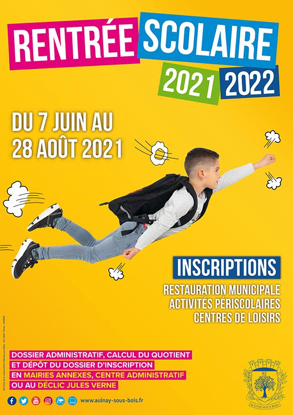 Rentrée scolaire 2021 - 2022