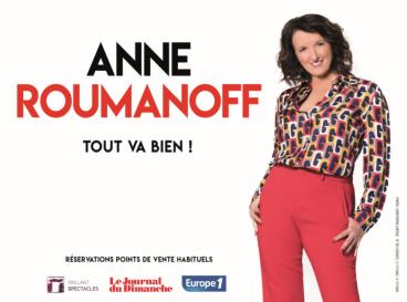 affiche anne roumanoff
